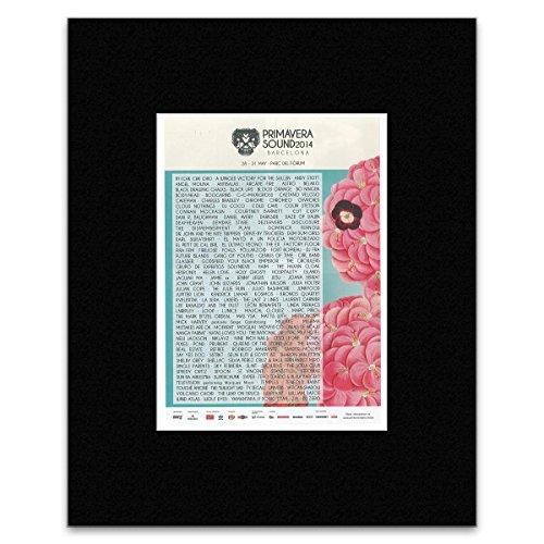 Uncut Primavera Sound Festival - 2014 - Astro Andy Stott Cold Cave Mini Poster - 28.5x21cm