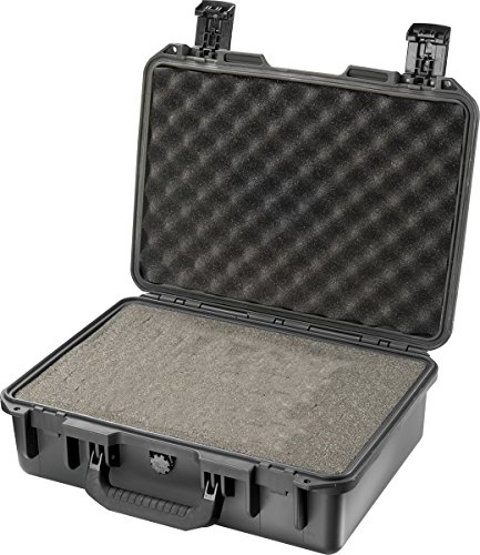 PELI Storm IM2300 Caja protectora para sistemas electrónicos, ópticos y equipos fotográficos, resistente al agua y al polvo, 27L capacidad, fabricada en EE.UU., con espuma personalizable, color n20L