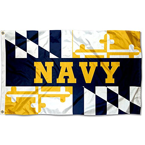 College Flags & Banners Co. US Navy Midshipmen Maryland State Flag
