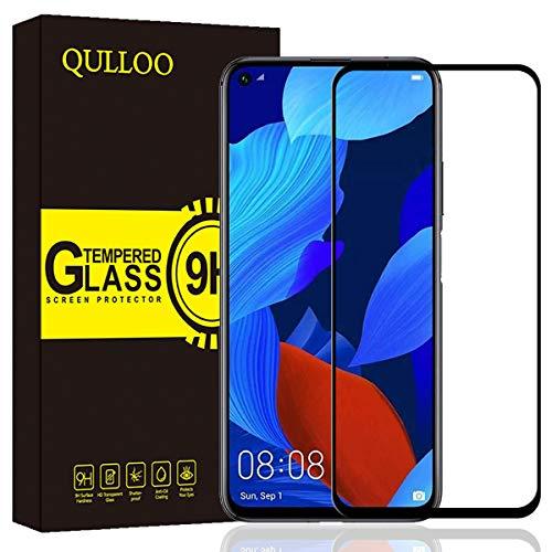 Panzerglas für Huawei Nova 5T / Honor 20 Pro/Honor 20 Panzerglas Schutzfolie 9H Verbesserte Gehärtetes Glas Folie Anti-Fingerabdruck für Huawei Nova 5T / Honor 20 Pro/Honor 20 - Schwarz