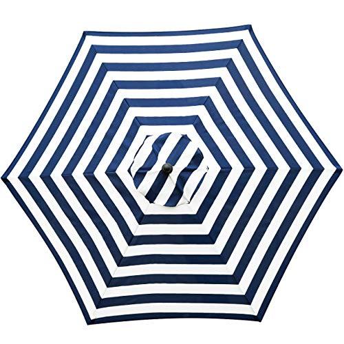 Sunnyglade 9ft Patio Umbrella Canopy Market Umbrella