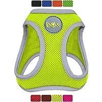 DDOXX Arnés Perro Step-In Air Mesh, Ajustable, Reflectante, Acolchado | Diferentes Colores & Tamaños | para Perros Pequeño, Mediano y Grande | Accesorios Gato Cachorro | Amarillo, XS