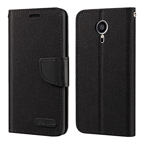 Meizu Pro 5 Hülle, Oxford Leder Wallet Hülle mit Soft TPU Back Cover Magnet Flip Hülle für Meizu Pro 5