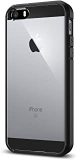 Spigen Ultra Hybrid designed for Apple iPhone SE Case (2016) - Black