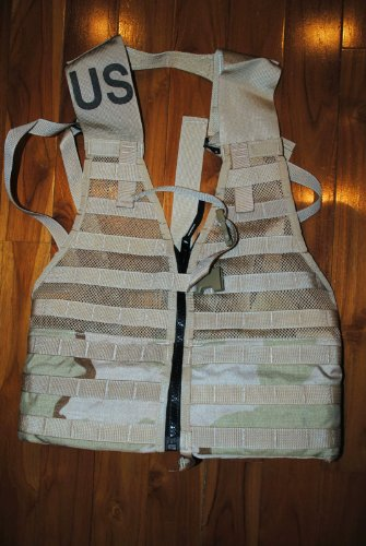 Official US Military Molle II Army FLC Fighting Tactical Assault Vest Carrier