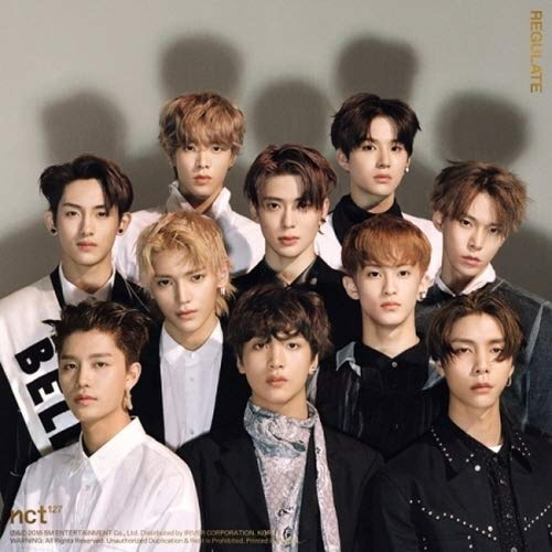 NCT 127 - [NCT #127 Regulate] 1st Repackage Album CD+Booklet+PhotoCard+Tracking K-POP Sealed