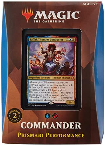 Magic The Gathering Strixhaven Commander Deck - Prismari (Blue-Red)
