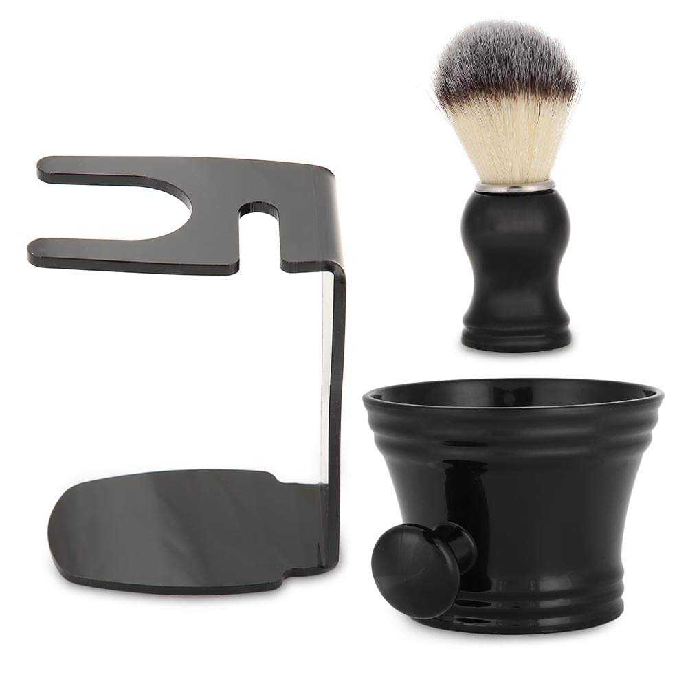 Shaving Brush Set 3 IN 1 Soap Stand Men Easy-to-use Shavin With Bowl Manufacturer OFFicial shop