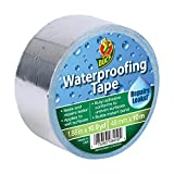 Duck Brand Waterproofing Tape, Silver, 1.88 Inches x 10.9 Yards, 1 Roll (280355)