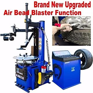 XK 1.5 HP Automatic Tire Changer Wheel Changers Machine Rim Balancer Combo 960 680/12 Month Warranty