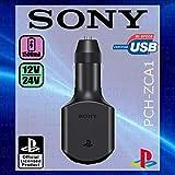 Sony Lot de 2 adaptateurs de chargeur USB pour voiture, camion 12 V/24 V pour smartphone, GPS, tablettes, consoles de jeux portables et tous les autres appareils de chargement USB