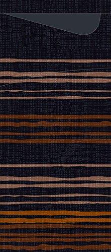 Duni Duni Serviettentaschen Sacchetto® Tissue Brooklyn Black 190 x 84 mm 100 Stück