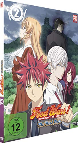 Food Wars! The Third Plate - Staffel 3 - Vol.2 - [DVD]