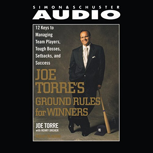 Joe Torre's Ground Rules audiobook cover art