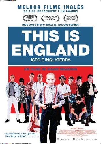 This Is England Movie Poster (27 x 40 Inches - 69cm x 102cm) (2006) Portuguese -(Thomas Turgoose)(Stephen Graham)(Jo Hartley)(Andrew Shim)(Vicky McClure)(Joseph Gilgun)