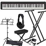 Casio CDP S100 Set Pianoforte Digitale con Supporto Panca, Cuffie e Leggio MusicalStore2005