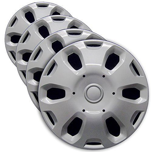 Premium Hubcap Set, Replacement for Ford Transit Connect 2010-2013, 15-inch...