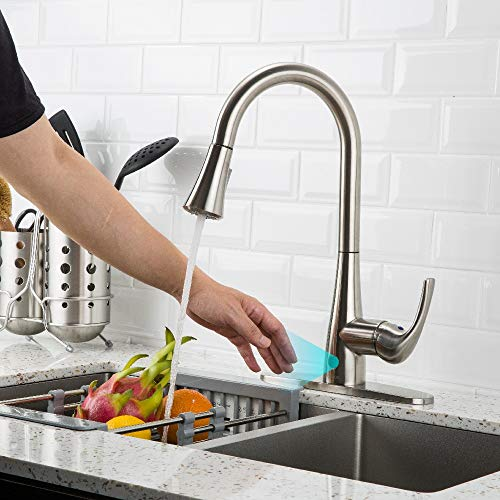 Forious Touchless Kitchen Faucet With Pull Down Sprayer