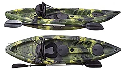 Fishing Kayak Grapper Pike x Army Camouflage by Grapper