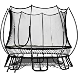 Free Jump Trampoline 10FT Round Springless Trampoline with Safety Enclosure Net - 10' Outdoor No Spring Trampoline for Kids, Teens and Adults - 10 Feet Recreational Trampoline with Ladder