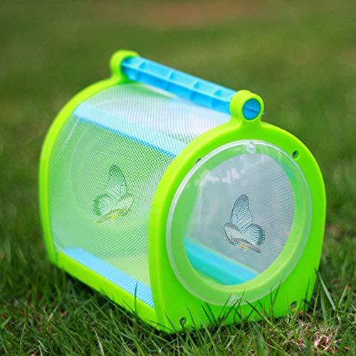 Parluna Schmetterlingskäfig, Insektenkasten, Leichter kompakter Insektenkäfig, tragbares Outdoor-Lernspielzeug Bildungsbedarf für Gartengewächshaus