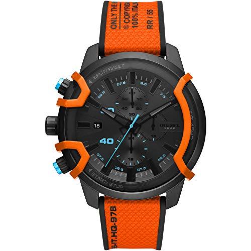 Diesel Mens Analog Quartz Uhr mit Cloth Armband DZ4562