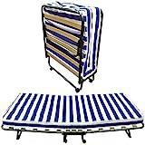 Baldiflex Dali - Cama plegable con colchón de poliuretano expandido Waterfoam...