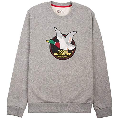Chevignon Togs Unlimited Sweatshirt - grau meliert - XL