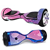 MightySkins Skin Compatible with Hover-1 H1 Hoverboard Scooter - Pink Diamond | Protective, Durable, and Unique Vinyl Decal wrap Cover...