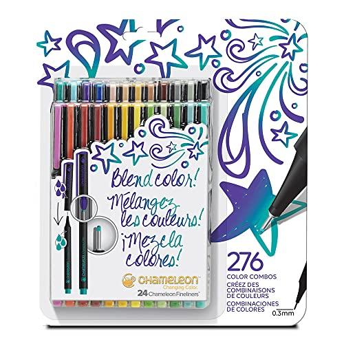 Chameleon Fineliner Kräftigen Farben - 24er Set