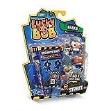 LUCKY BOB – Pack 5 Street, 5 Figuras Divertidas de Lucky Bob con Sus Accesorios de Calle