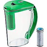 brita water filter green - Brita Stream 10 Cup BPA Free Filter-As-You-Pour Water Pitcher - Island Green