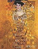 Gustav Klimt Agenda Giornaliera 2021: Ritratto di Adele Bloch-Bauer I | Pianificatore Annuale 2021 | Da Gennaio a Dicembre (12 Mesi) | Art Nouveau | Organizer & Diario