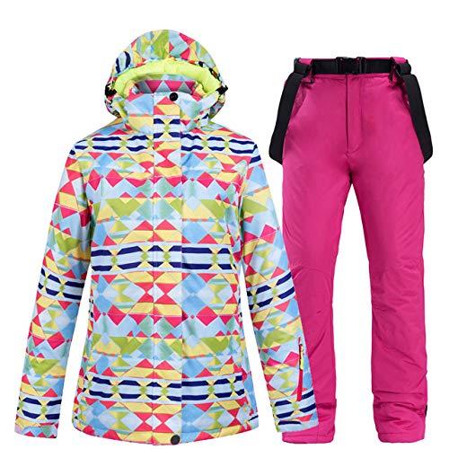 ZYJANO ski pak, Ski pak Vrouwen Merken Winter 2019 Ski Jas En Broek Sneeuw Warm Waterdicht Winddicht Skiën En Snowboarden Suits