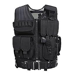 Law Enforcement Tactical Airsoft CS Vest