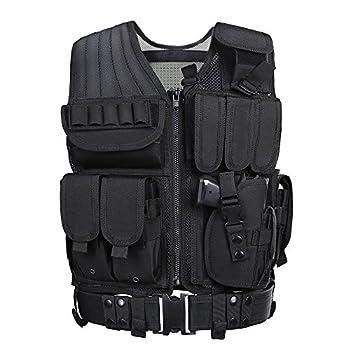 GZ XINXING Tactical Airsoft CS Vest  Black