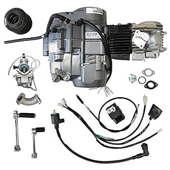JCMOTO Lifan 140cc Engine Motor for XR50 CRF50 XR CRF 50 70 ATC70 Dirt Pit Bike Motorcycle   1N234 Gear 4 Stroke Racing Engine
