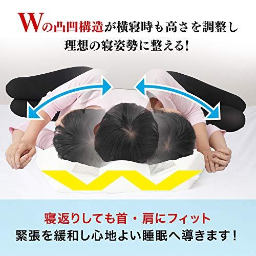 六角脳枕低反発安眠まくら快眠枕肩こり首こりストレートネック公式