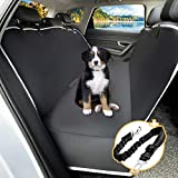 Toozey Funda Asiento Coche Perro con Protector Lateral, Impermeable...