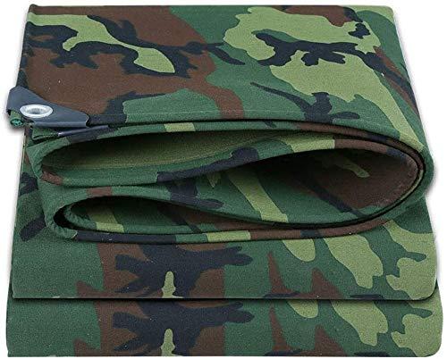 Waterproof Heavy Duty Tarpaulin Outdoor dikke poncho Camouflage canvas luifeldoek Oxford doek outdoor luifeldoek, verschillende maten voor Car Garden Roof Camouflage Tent