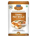 KEYA Tawa Pav Bhaji Masala | Monocarton| 100 Gm, Pack of 1
