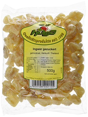 Howa Ingwerstücke groß kandiert (500 g)