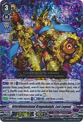 Cardfight!! Vanguard - Interdimensional Dragonknight, Lost Legend - V-EB04/007EN - RRR - V Extra Booster 04: The Answer of Truth