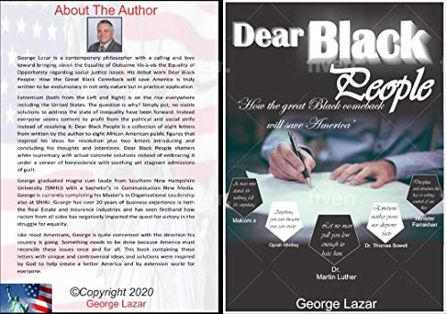 Dear Black People: How the Great Black Comeback with save America (English Edition)