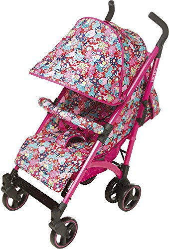 TUC TUC Girls Tuctuc Yupi Buggy Kimono Tuc Tuc The yuppie shine tuck tuck pushchair is designed for maximum comfort for both child and parents. comfortable for the baby because of the big seat and its tilt of up to 150º. Certified: from birth to 15 kg. metal-colored aluminum structure. umbrella-type folding. easily removable dual layer polyester lining. ova protective hood. recline to 150º in four positions using one hand. suspension system in 4 groups of wheels, Easy-access single brake. includes carrying handle. multi-position harness retainer with five anchor points. accessories included: rain cover, basket to carry objects, dual fabric extendible hood with visor. 3