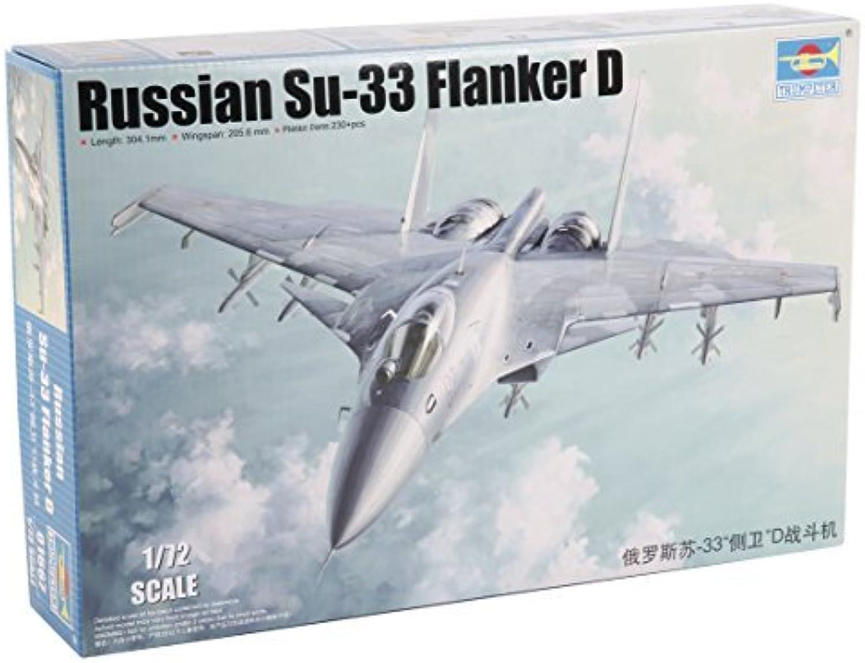 de moda TRP01667 1 72 Trumpeter Russian Su-33 Su-33 Su-33 Flanker D [MODEL BUILDING KIT] by Trumpeter  increíbles descuentos