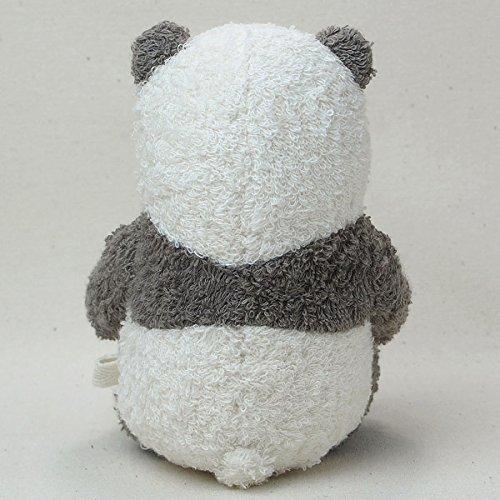 ぬくぐるみ工房オーガニックコットン草木染めパンダのぬいぐるみS