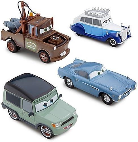 Ven a elegir tu propio estilo deportivo. Disney Store Cars 2 Save The Queen Die Cast Cast Cast Set with Talking Mater and Finn McMissile by Cars 2  servicio honesto