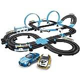 CMXUHUI El Juguete Favorito del bebé, Gran Regalo para los Track Electric Reglation Circuit Circuit Racing Racing Toy Set Boy Racing Track Eléctrico Control Remoto Tren Juguete para Niños