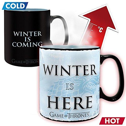 Game of Thrones - Winter is here - Farbwechsel-Tasse   Füllmenge 460 ml